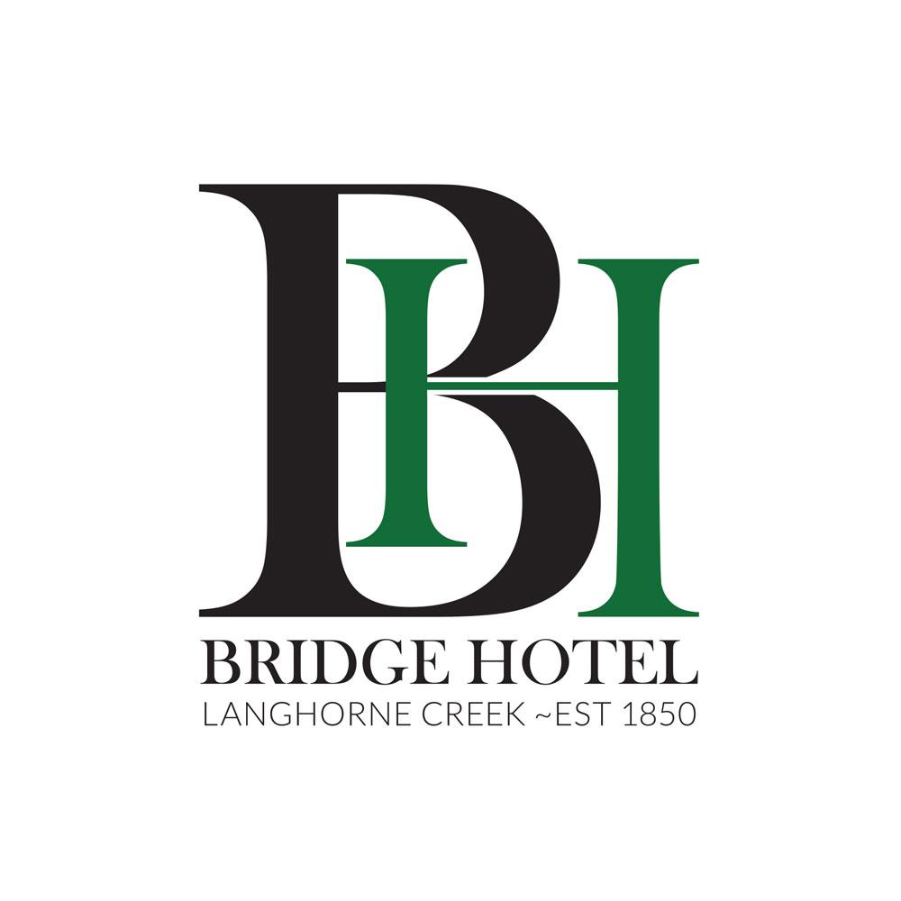 Logo design for Bridge Hotel Langhorne Creek
